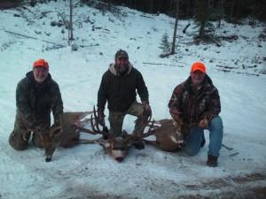southfork outfitters montana late season whitetail mule deer 2013