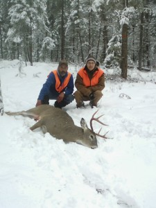 southfork outfitters montana late season whitetail 2013